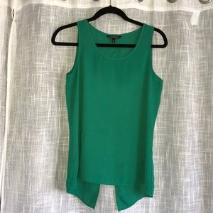 Express Kelly Green Top